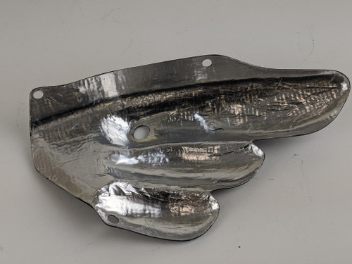 Exhaust Cover in Carbon with Fiberglass for MV Agusta F3 & Brutale 675/800, Dragster &  Rivale 800
