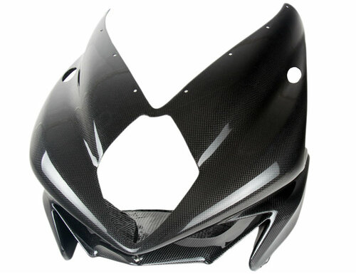 Front Fairing for MV Agusta F3 675/800 in Glossy Plain Weave Carbon Fiber