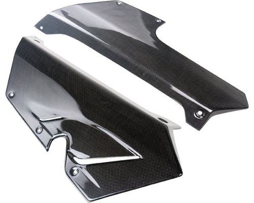 Belly Pan for MV Agusta F3 675/800 in Glossy Plain Weave Carbon Fiber Carbon
