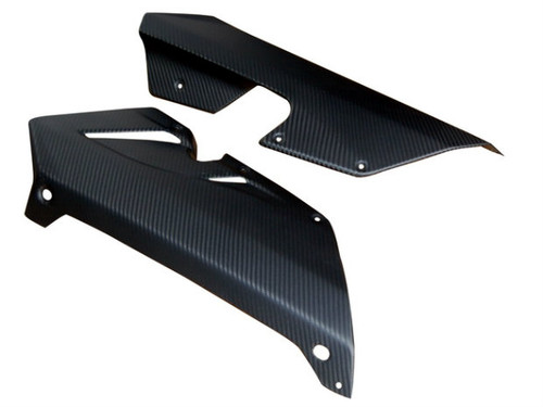 Belly Pan for MV Agusta F3 675/800 in Matte Twill Weave Carbon Fiber