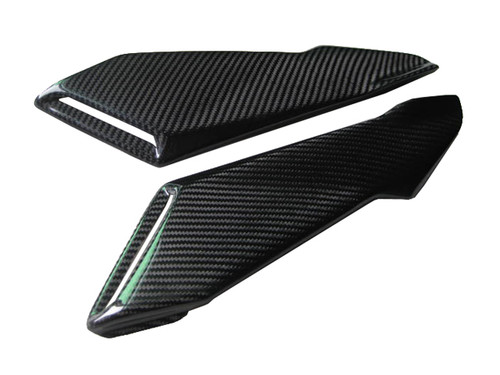 Airbox Cover for MV Agusta F4 1999-2009 in Glossy Twill Weave Carbon Fiber