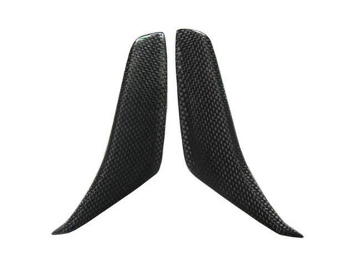 Mirror Air Scoops for MV Agusta F4 2010+ in Glossy Plain Weave Carbon Fiber