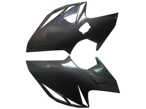 Side fairings for MV Agusta F4 2010+ in Glossy Plain Weave Carbon Fiber