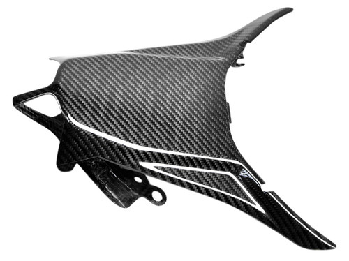 Tail Light Cover in Glossy Twill Weave Carbon Fiber for MV Agusta Brutale F4 2010+