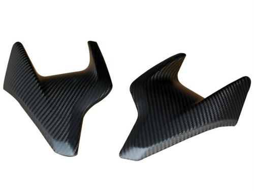 Matte Twill Weave Carbon Fiber Side Covers for MV Agusta Brutale 675/800, Dragster 800