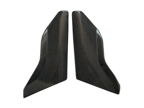 Side Covers for MV Agusta Brutale 2004-2009 in Glossy Plain Weave Carbon Fiber