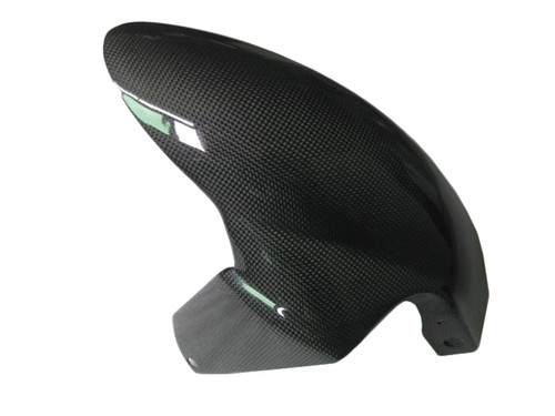 Front Fender for MV Agusta F4, Brutale 1999-2009 in Glossy Plain Weave Carbon Fiber