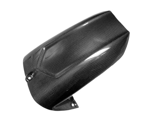 Rear Hugger for Yamaha R6 03-05 in Glossy Plain Weave Carbon Fiber