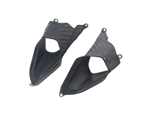 Rear Tail Vents for Ducati Panigale 899, 1199 in  Matte Plain Weave Carbon Fiber