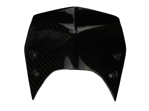 Windshield ( type 1- sport) in Glossy Twill Weave Carbon Fiber for KTM Superduke / R 990 2007 - 2013