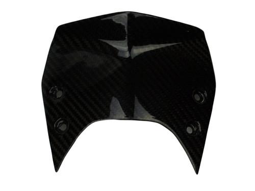 Windshield ( type 1- sport) in Glossy Twill Weave Carbon Fiber for KTM Superduke / R 990 2007 - 2013