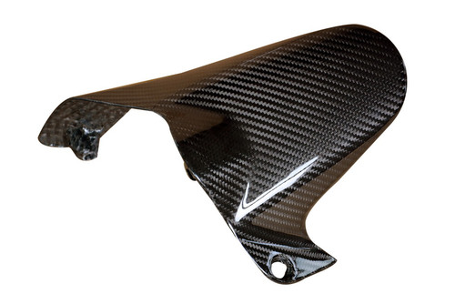 Rear Hugger in Glossy Twill Weave Carbon Fiber for Ducati Monster 1200 2014-2016 (not S/R)