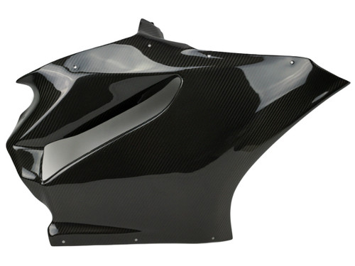 Side Fairing right side (for Racing ) in Glossy Twill Weave Carbon Fiber for Ducati Panigale 899, 1199