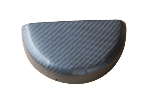 Wet Clutch Cover Cover ( half round) in Matte Twill Weave Carbon Fiber for Ducati Panigale 899, 959, 1199, 1299