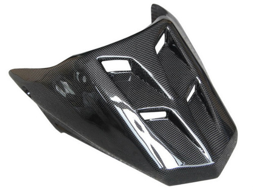 Seat Cowl in Glossy Plain Weave Carbon Fiber for Ducati 749, 999