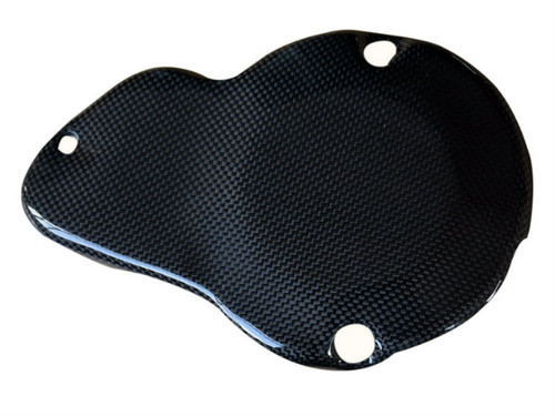 Engine Cover in Glossy Plain Weave Carbon Fiber for MV Agusta Rivale 800, Dragster 800, Brutale 675/800, F3