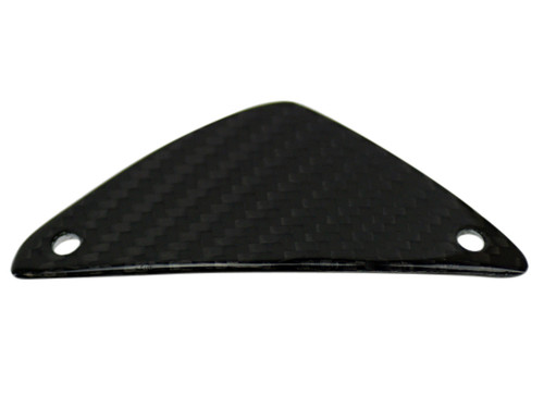 Small Cockpit Panel in Glossy Twill weave Carbon Fiber for MV Agusta Dragster