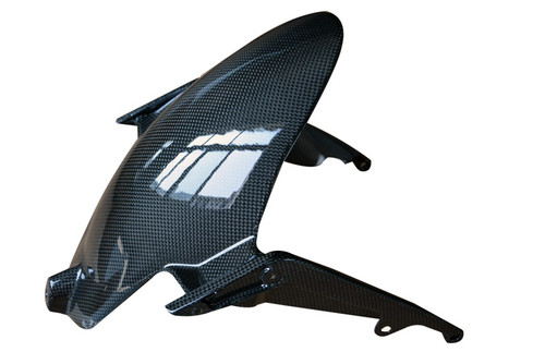 Front Fender in Glossy Plain Weave Carbon Fiber for MV Agusta Dragster