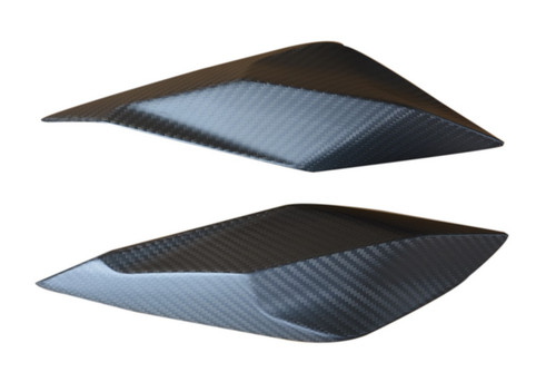 Head Light Fairings in Matte Twill Weave Carbon Fiber for KTM 1290 Super Duke R