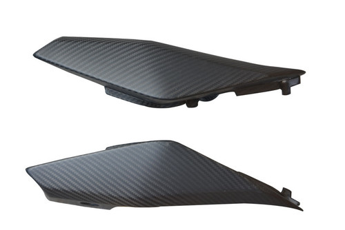 Tail Side Covers in Matte Twill Weave Carbon Fiber for Yamaha FZ-09/ MT-09 2014-2016