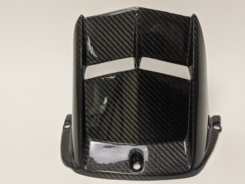 Rear Hugger in 100% Carbon Fiber for Yamaha R6 2006+