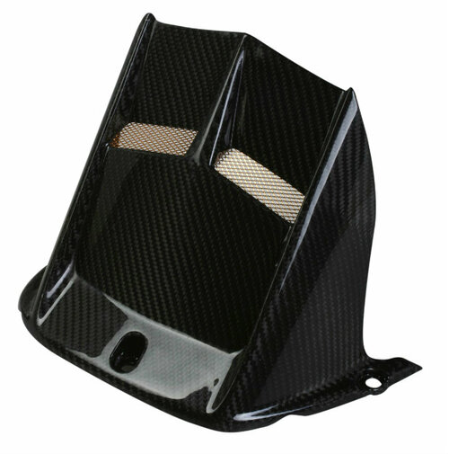 Rear Hugger in Glossy Twill Weave Carbon Fiber for Yamaha R6 2006+
