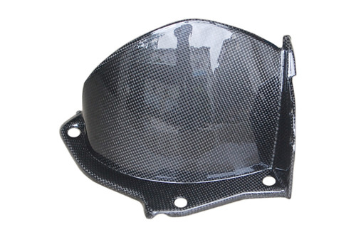 Rear Hugger in Glossy Plain Weave Carbon Fiber for Yamaha R1 09-14