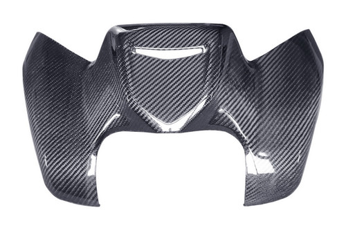 Tank Cover in Glossy Twill Weave Carbon Fiber for Yamaha FZ8 2011-2013