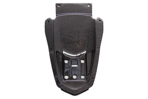 Undertray in Glossy Twill Weave Carbon Fiber for Yamaha FZ8 2010-2013