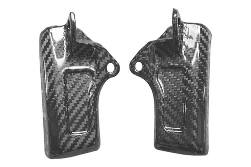 Side Covers in Glossy Twill Weave Carbon Fiber for Yamaha FZ8 2010-2013