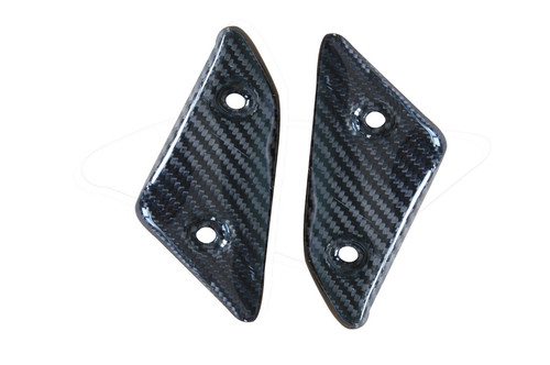 Small Side Panels in Glossy Twill Weave Carbon Fiber for Yamaha FZ8 2010-2013
