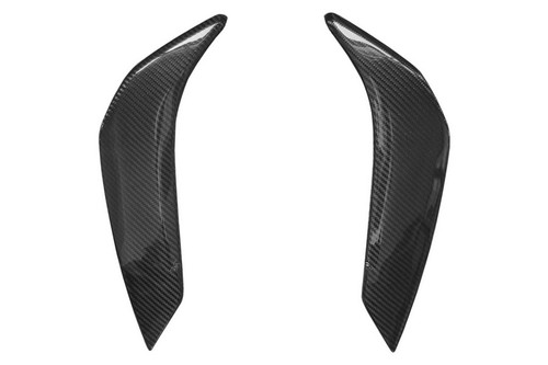 Tank Side Panels in Glossy Twill Weave Carbon Fiber for Yamaha FZ8 2010-2013