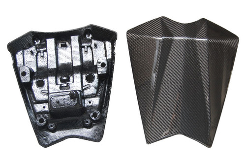 Seat Cowl Set in Glossy Twill Weave Carbon Fiber for Yamaha FZ8 2010-2013