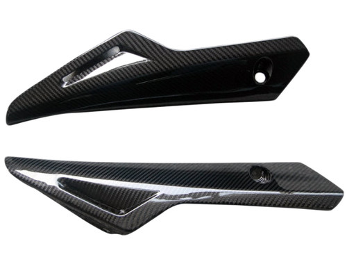 Belly Pan in Glossy Twill Weave Carbon Fiber for Yamaha FZ8 2010-2013