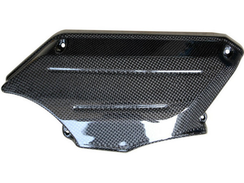 Side Part in Glossy Plain Weave Carbon Fiber for Aprilia Mana 850 2008-2014
