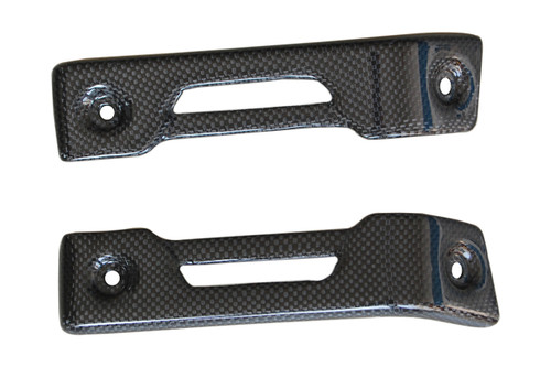 Chain Guard Kit in Glossy Plain Weave Carbon Fiber for Aprilia Mana 850 2008-2014