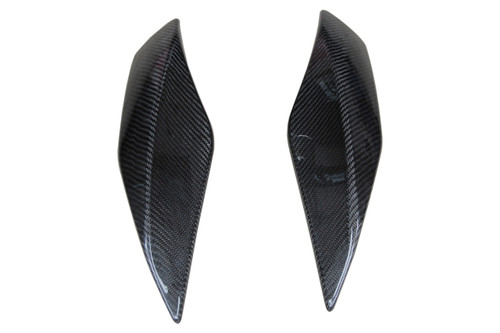 Chain Guard Kit in Glossy Plain Weave Carbon Fiber for Aprilia Mana 850 2008-2014