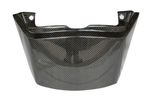 Seat Cowl in Glossy Plain Weave Carbon  Fiber for Aprilia Mana 850 2008-2014