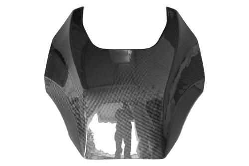 Tank Cover n Glossy Plain Weave Carbon Fiber for Aprilia Mana 850 2008-2014