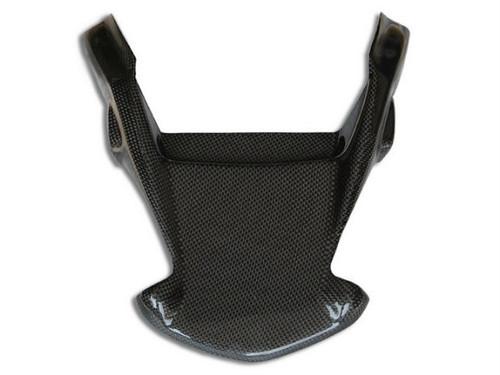 Tegolino (style 2) in Glossy Plain Weave Carbon Fiber for Ducati Monster