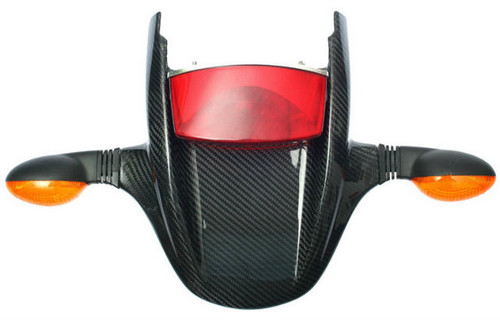 Tail Cowl in Glossy Twill WeaveCarbon Fiber for Ducati Monster