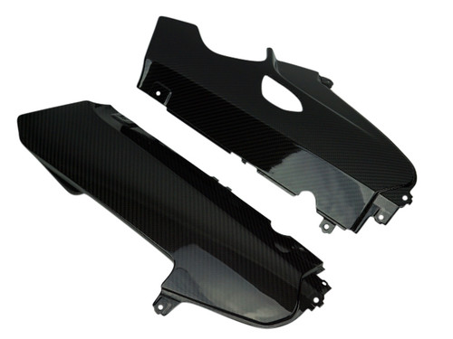 Belly Pan in Glossy Twill Weave Carbon Fiber for BMW S1000RR 2012-2014