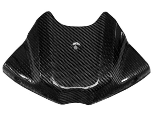 Tank Cover in Glossy Twill Weave Carbon Fiber for Triumph Speed Triple 1050 2011-2015