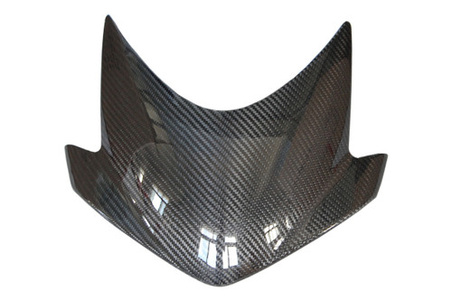 Windscreen in Glossy Twill Weave Carbon Fiber