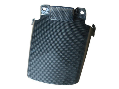 Fender Extender in Glossy Plain Weave  Carbon Fiber for Ducati Multistrada 1200