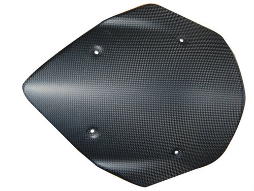 Windscreen in Matte Weave Carbon Fiber for Ducati Multistrada 1200 2013-2014