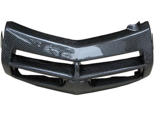 Front Fairing Lower in Glossy Plain Weave Carbon Fiber for Ducati Multistrada DS1000/1100