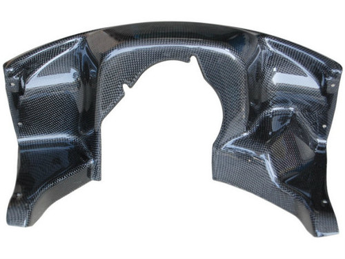 Front Fairing Inner in Glossy Plain Weave Carbon Fiber for Ducati Multistrada DS1000/1100 2004-2008