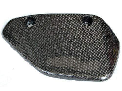 Swingarm Cover in Glossy Plain Weave Carbon Fiber for Ducati Multistrada DS1000/1100