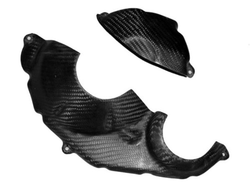 Engine Cover in Glossy Twill Weave Carbon Fiber for Honda CBR1000RR 08-11